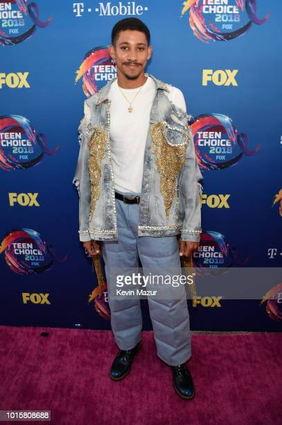 Keiynan Lonsdale attends FOX's Teen Choice Awards at The Forum on August 12 2018 in Inglewood California