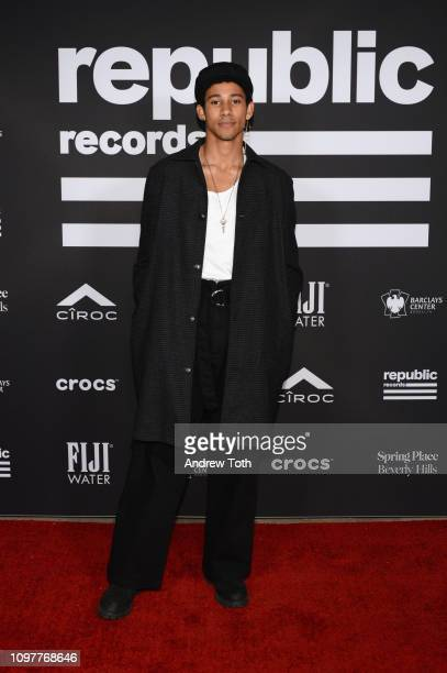 Keiynan Lonsdale attends Republic Records Grammy after party at Spring Place Beverly Hills on February 10 2019 in Beverly Hills California
