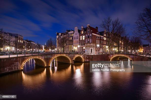 Keizersgracht at night
