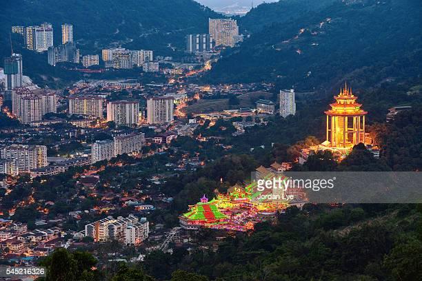 Kek Lok Si Temple light up