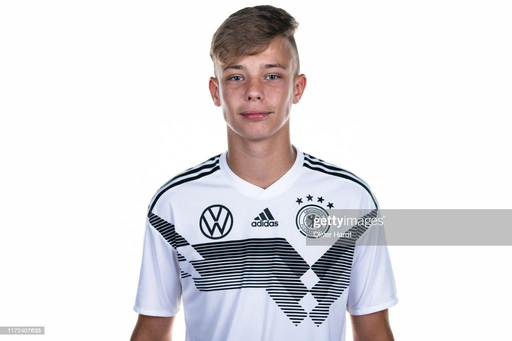 U16 Germany Team Presentation : Nachrichtenfoto
