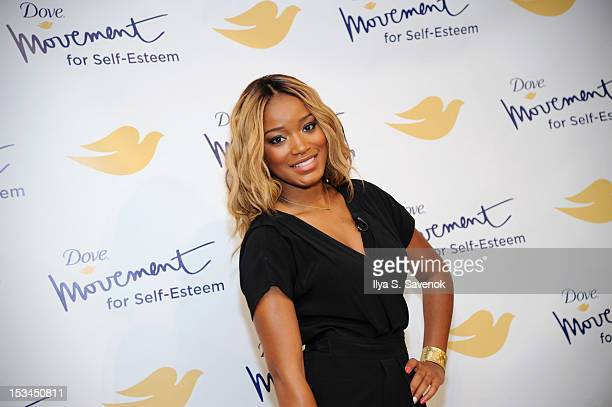Keke Palmer attends 3rd Annual Dove SelfEsteem Weekend at Times Square on October 5 2012 in New York City