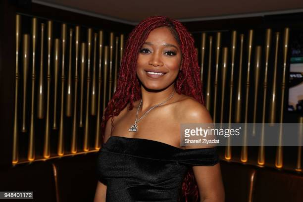 Keke Palmer attends her listening party at 40 / 40 Club on April 18 2018 in New York City