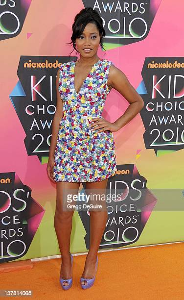 Keke Palmer attends Nickelodeon's 23rd Annual Kids' Choice Awards held at Pauley Pavilion at UCLA on March 27 2010 in Los Angeles California