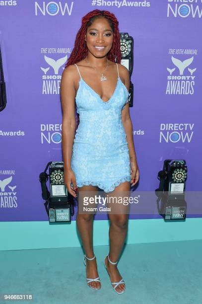 Keke Palmer attends the 10th Annual Shorty Awards at PlayStation Theater on April 15 2018 in New York City
