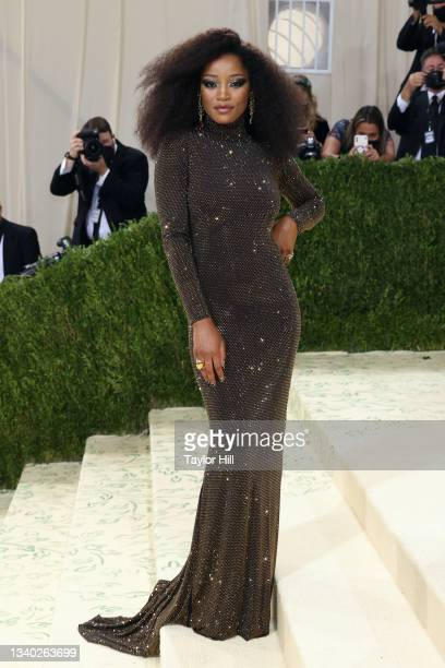 """Keke Palmer attends the 2021 Met Gala benefit """"In America: A Lexicon of Fashion"""" at Metropolitan Museum of Art on September 13, 2021 in New York City."""