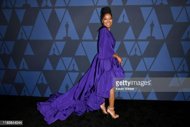 Keke Palmer attends the Academy Of Motion Picture Arts And Sciences' 11th Annual Governors Awards at The Ray Dolby Ballroom at Hollywood Highland...