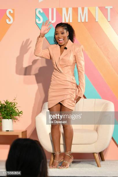 Keke Palmer attends the #BlogHer19 Creators Summit at Brooklyn Expo Center on September 18 2019 in New York City