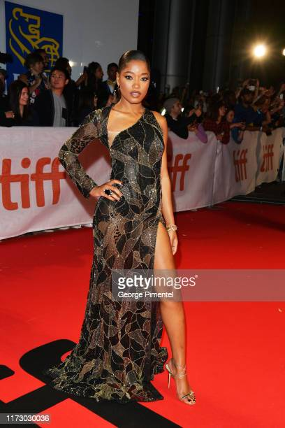 """Keke Palmer attends the """"Hustlers"""" premiere during the 2019 Toronto International Film Festival at Roy Thomson Hall on September 07, 2019 in Toronto,..."""