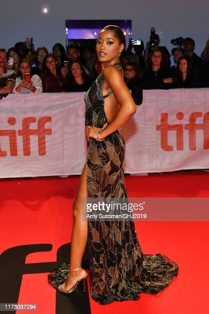 Keke Palmer attends the Hustlers premiere during the 2019 Toronto International Film Festival at Roy Thomson Hall on September 07 2019 in Toronto...