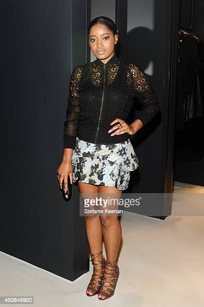 Keke Palmer attends Vanity Fair And Vera Wang Celebrate The Opening Of Vera Wang On Rodeo Drive on June 18 2014 in Beverly Hills California