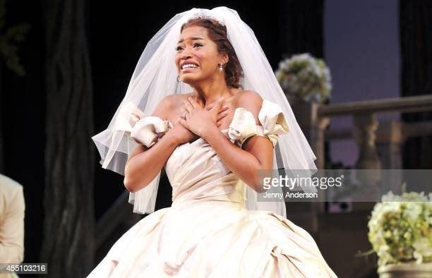 Keke Palmer debuts in 'Cinderella' on Broadway at Broadway Theatre on September 9 2014 in New York City