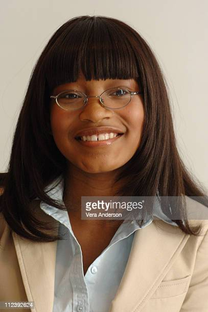 """Keke Palmer during """"Akeelah and the Bee"""" Press Conference with Angela Bassett and Lawrence Fishburne at Four Seasons Hotel in Beverly Hills,..."""