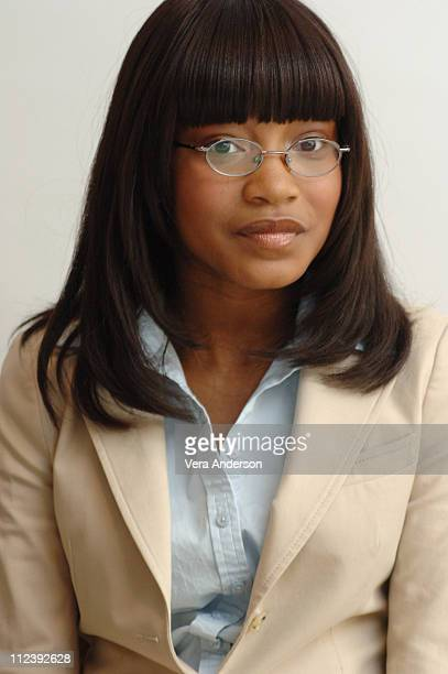 Keke Palmer during Akeelah and the Bee Press Conference with Angela Bassett and Lawrence Fishburne at Four Seasons Hotel in Beverly Hills California...