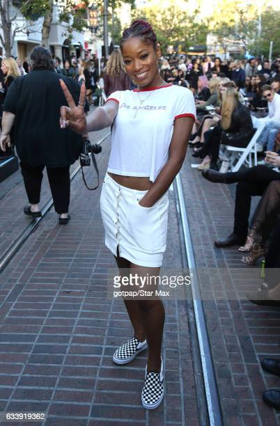 Keke Palmer is seen on February 4 2017 in Los Angeles CA