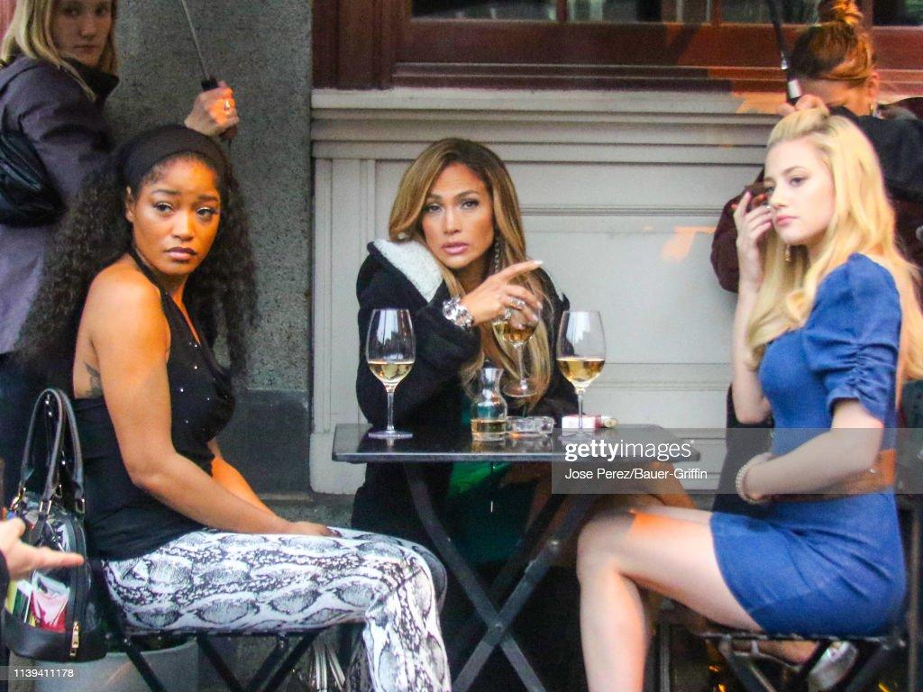 Celebrity Sightings In New York - April 25, 2019 : News Photo