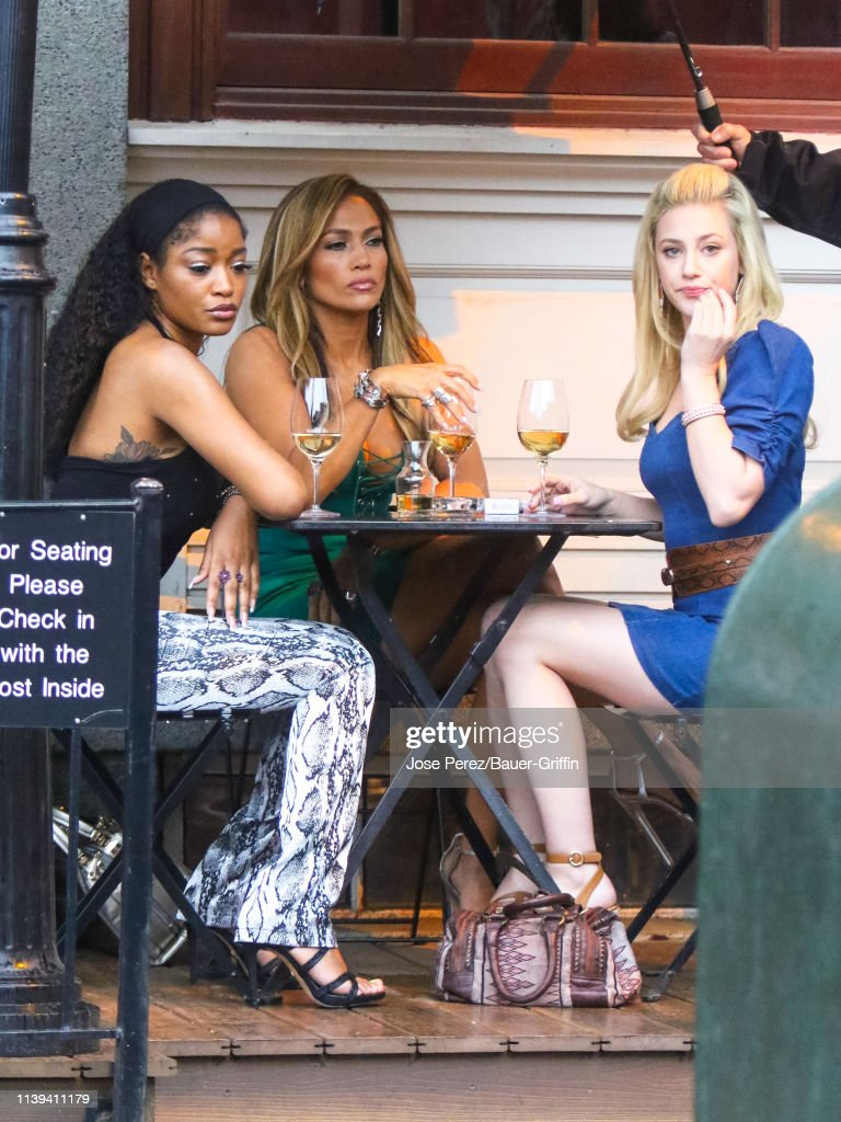 Celebrity Sightings In New York - April 25, 2019 : Nachrichtenfoto