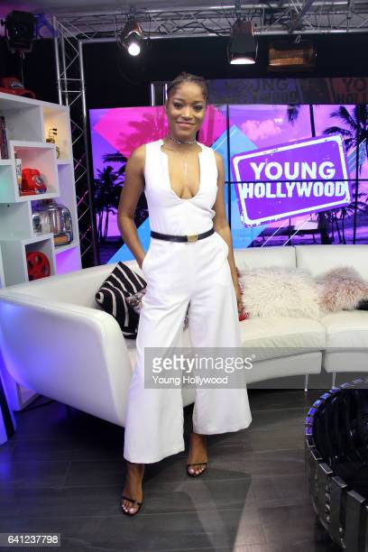 Keke Palmer visits the the Young Hollywood Studio on February 7 2016 in Los Angeles California