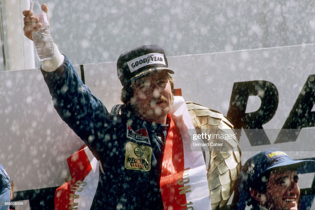 Keke Rosberg, Alain Prost, Grand Prix Of Switzerland : News Photo