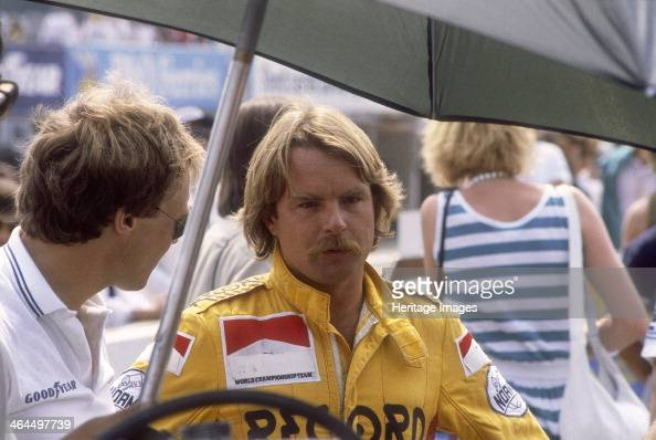 Keke Rosberg at the British Grand Prix Brands Hatch Kent 1982 Although he had shown considerable talent in the lower echelons of motor racing Rosberg...