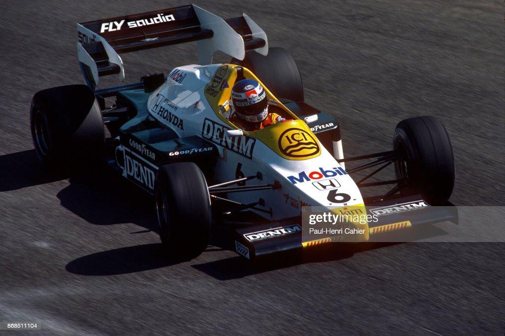 Keke Rosberg, Grand Prix Of Italy : News Photo