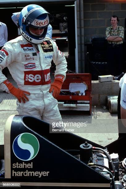 Keke Rosberg WolfFord WR7 Grand Prix of Great Britain Silverstone Circuit 14 July 1979