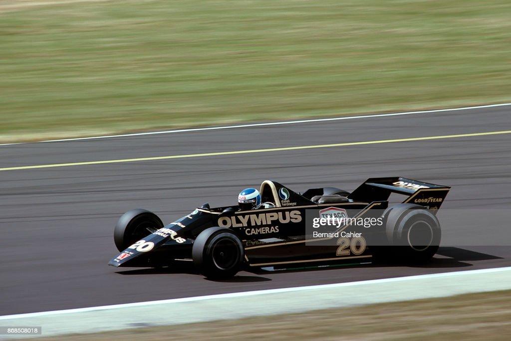 Keke Rosberg, Grand Prix Of Great Britain : News Photo