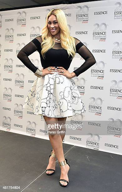 KeKe Wyatt attends the 2014 Essence Music Festival on July 5 2014 in New Orleans Louisiana