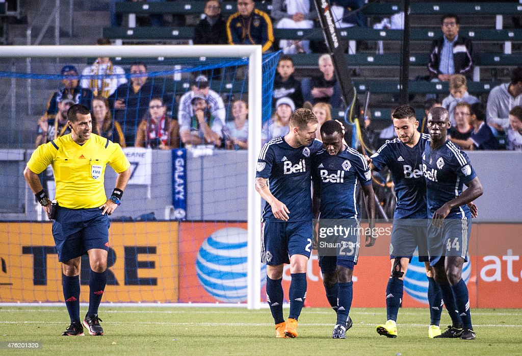 Los Angeles Galaxy v Vancouver Whitecaps FC : News Photo