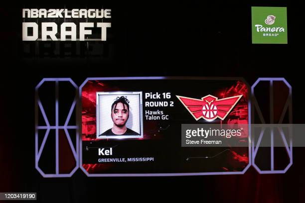 Kel gets picked during the NBA 2K League Draft on February 22 2020 at Terminal 5 in New York New York NOTE TO USER User expressly acknowledges and...