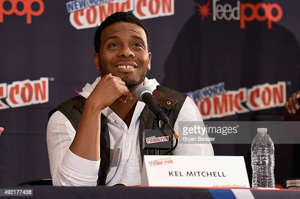Kel Mitchell speaks at The Splat All That Reunion At New York ComicCon on October 10 2015 in New York City
