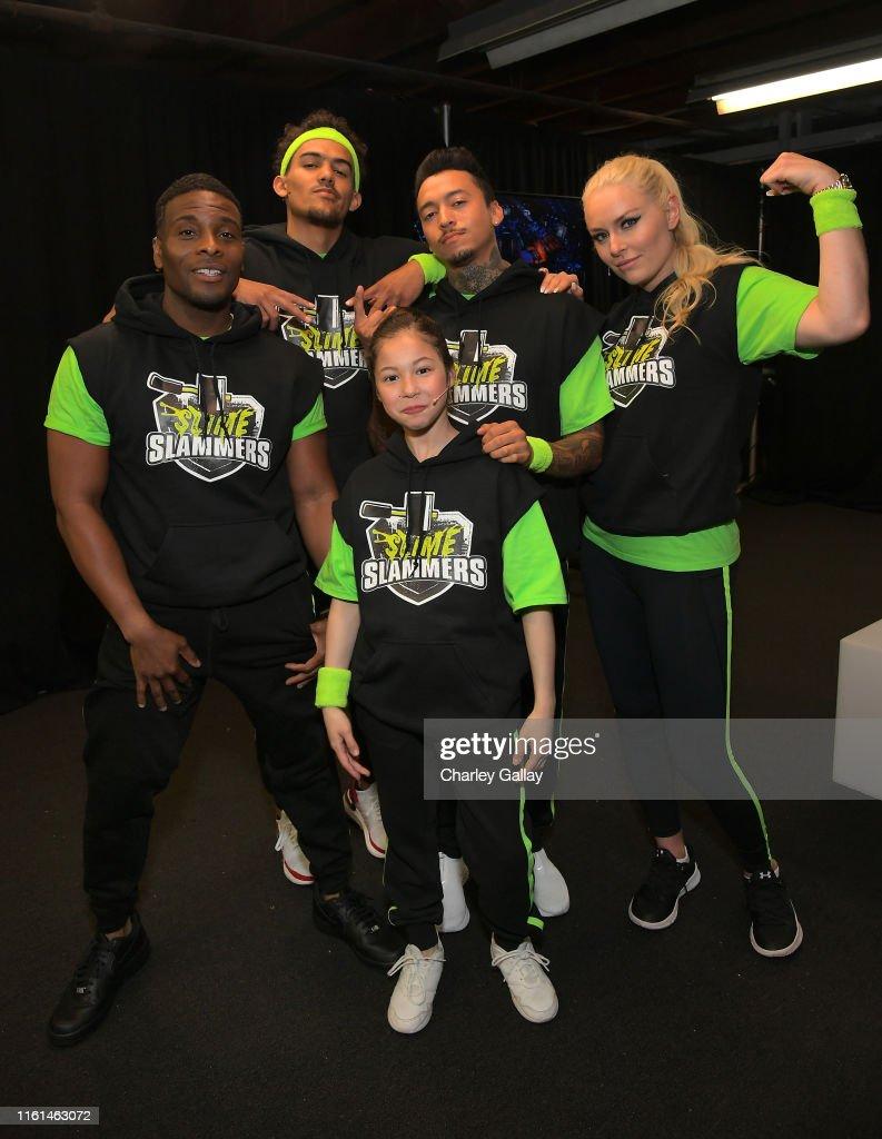 Nickelodeon Kids' Choice Sports 2019 - Green Room : News Photo