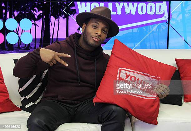 Kel Mitchell visits the Young Hollywood Studio on December 2 2015 in Los Angeles California