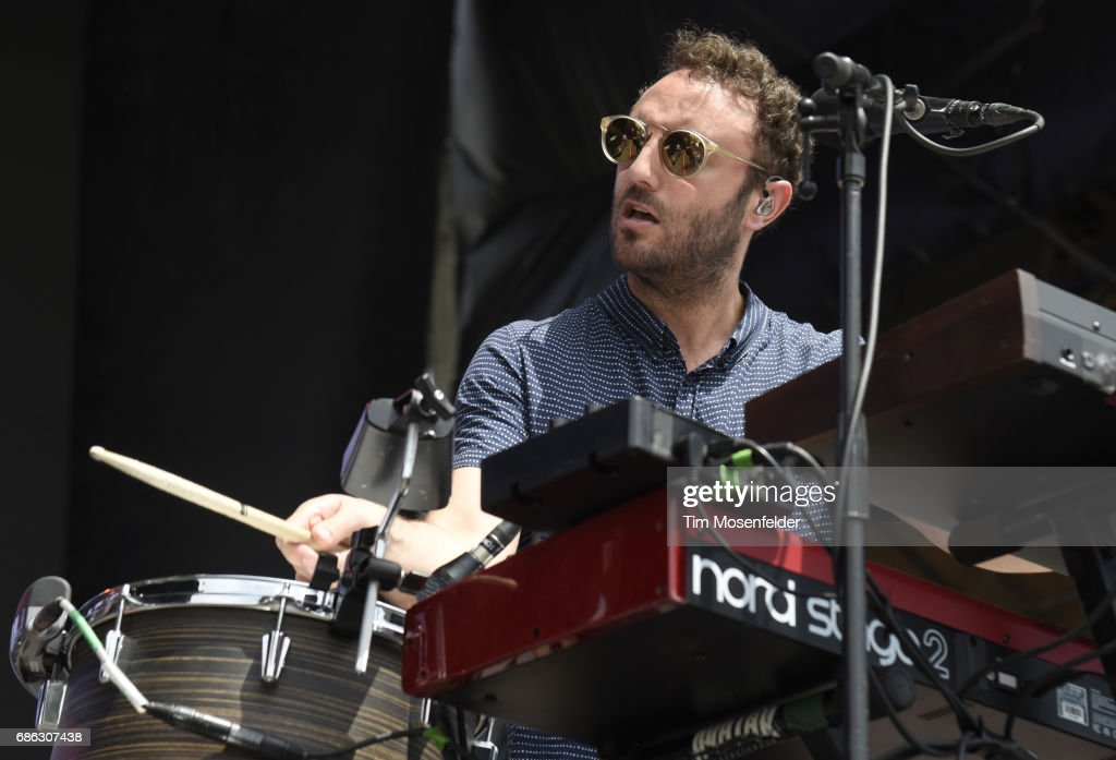 Kelcey Ayer of Local Natives performs during the 2017 Hangout Music Festival on May 20, 2017 in Gulf Shores, Alabama.