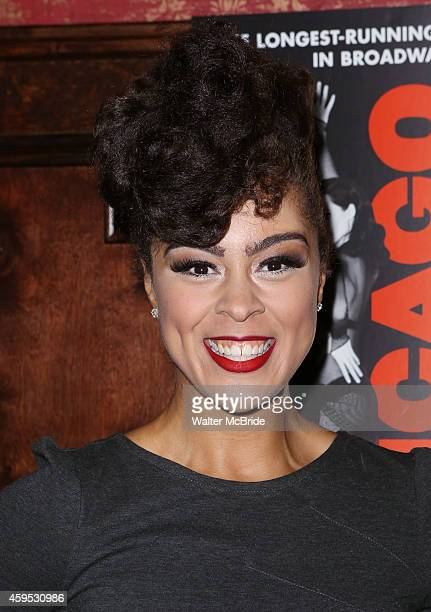Kelcy Ann Griffin attends the celebration party for 'Chicago' as it becomes the 2nd longest show in Broadway History at the Ambassador Theatre on...