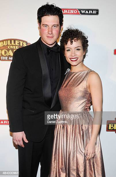 Kelcy Griffin attends the Bullets Over Broadway opening night celebration at The Metropolitan Museum on April 10 2014 in New York City