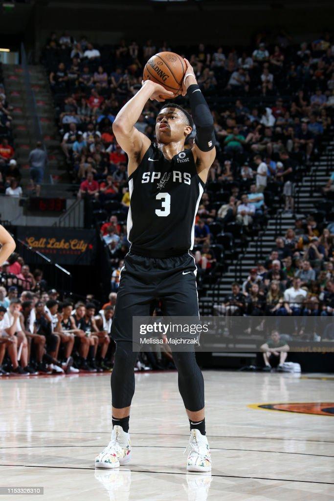 2019 Salt Lake City Summer League - Memphis Grizzlies v San Antonio Spurs : News Photo