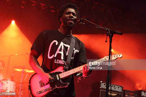 Kele Okereke of Bloc Party performs on stage on Day 3 of The Governors Ball Music Festival at Randall's Island on June 9 2013 in New York City