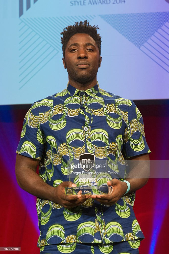 Kele Okereke of the band Bloc Party attends the Musikexpress Style Award 2014 at e-Werk on October 15, 2014 in Berlin, Germany.