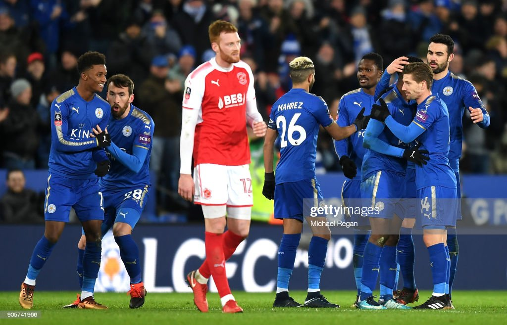 Leicester City v Fleetwood Town - The Emirates FA Cup Third Round Replay : News Photo