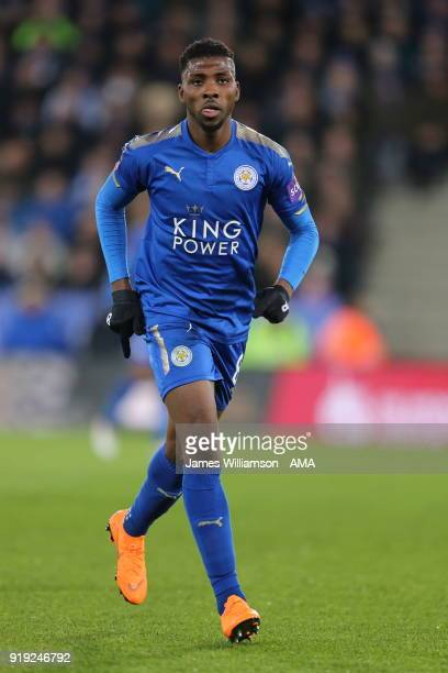 Kelechi Iheanacho of Leicester City during the Emirates FA Cup Fifth Round match between Leicester City and Sheffield United at The King Power...
