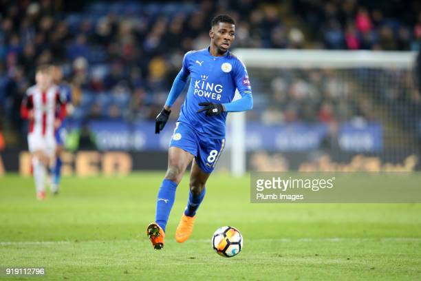 Kelechi Iheanacho of Leicester City during the FA Cup fifth round match between Leicester City and Sheffield United at King Power Stadium on February...