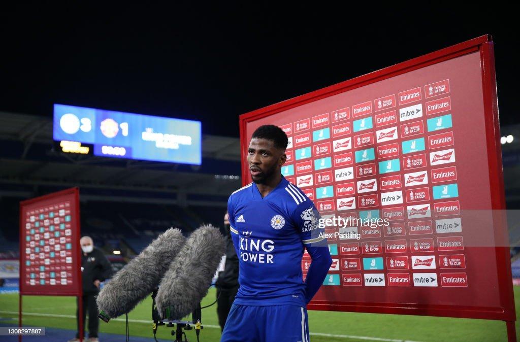 Leicester City v Manchester United: Emirates FA Cup Quarter Final : ニュース写真