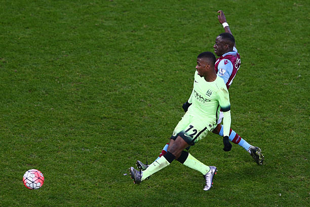 fc30d96ff96 Kelechi Iheanacho of Manchester City scores his team s third and hat trick  goal during the Emirates