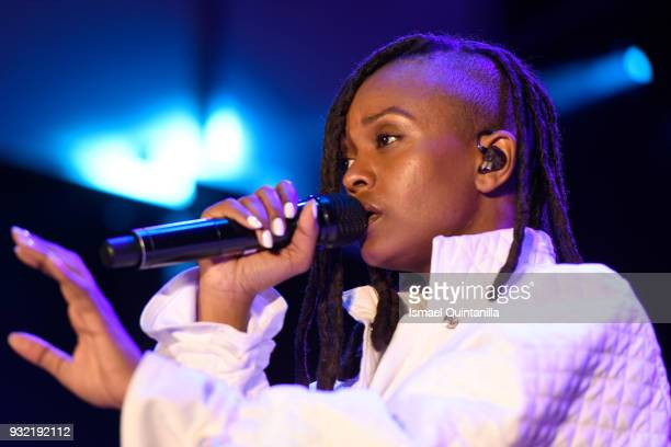 Kelela performs onstage at Pandora during SXSW at The Gatsby on March 14 2018 in Austin Texas