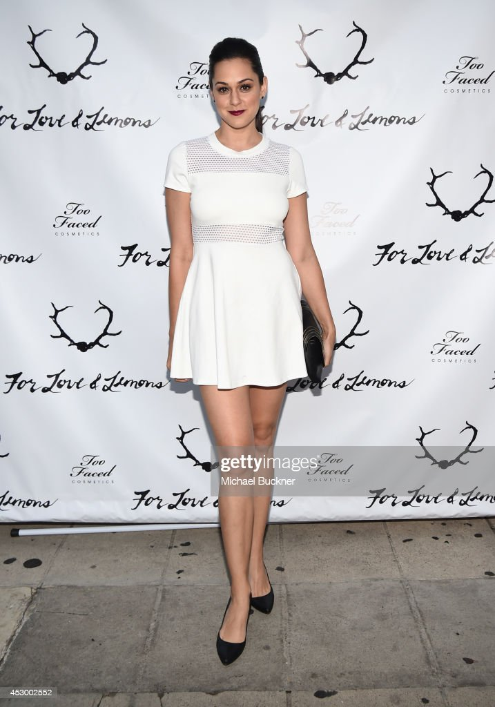 For Love And Lemons Annual SKIVVIES Party Sponsored By Too Faced & Co-hosted By Jena Malone
