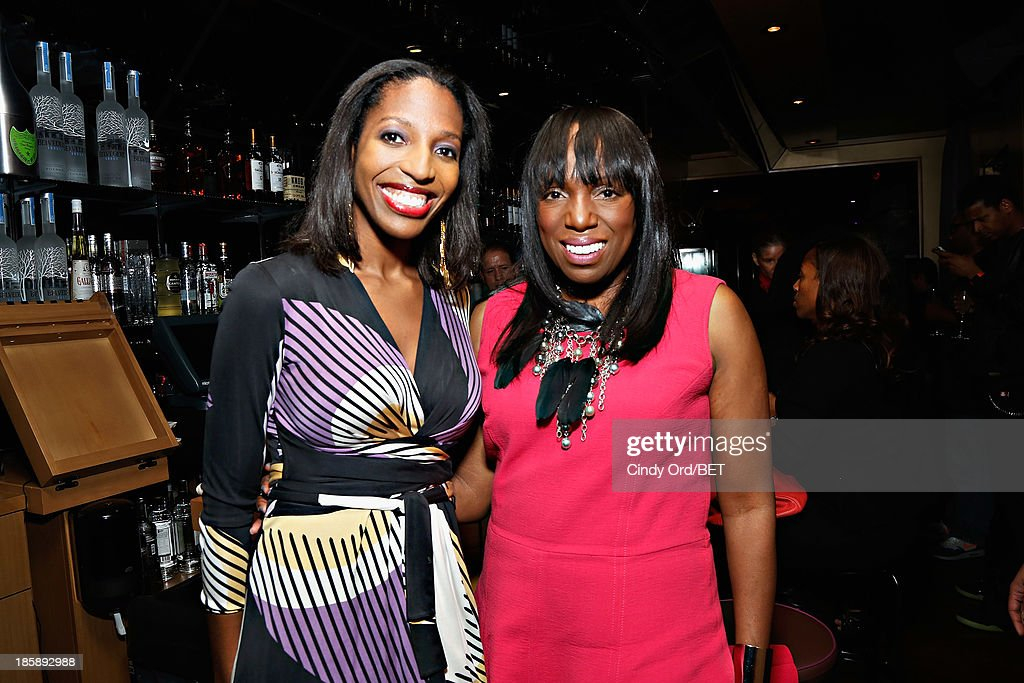 Keli Goff and Mikki Taylor attend the 2013 Black Girls Rock Shot Callers Dinner on October 25, 2013 in New York City.