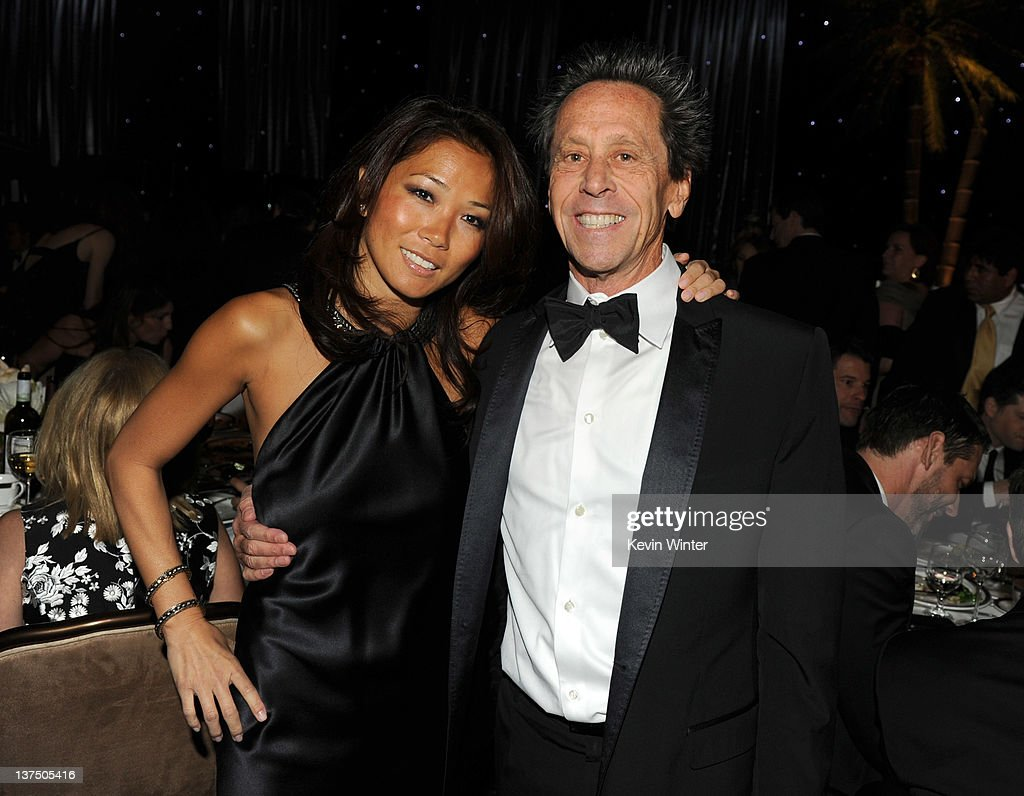 Keli Lee (L) and producer Brian Grazer attend the 23rd annual Producers Guild Awards at The Beverly Hilton hotel on January 21, 2012 in Beverly Hills, California.