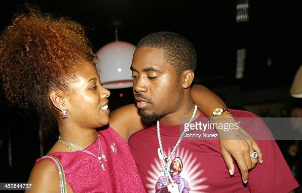 Kelis and Nas during Kelis Birthday Party at Que in New York City, New York, United States.
