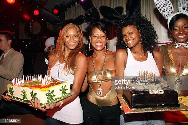 Kelis and The Birthday Bunnies during Kelis Throws Nas a Surprise Birthday Party with a Special Performance September 13 2006 at Canal Room in New...
